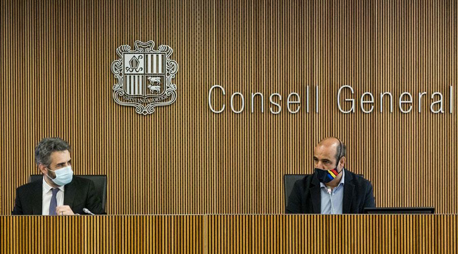 Jover i Montané a la comissió legislativa de Finances i Pressupost