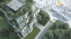 Maqueta d'un edifici sostenible