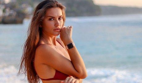 Model a la platja