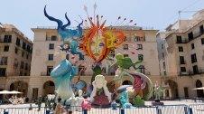 Fogueres de Sant Joan a Alacant