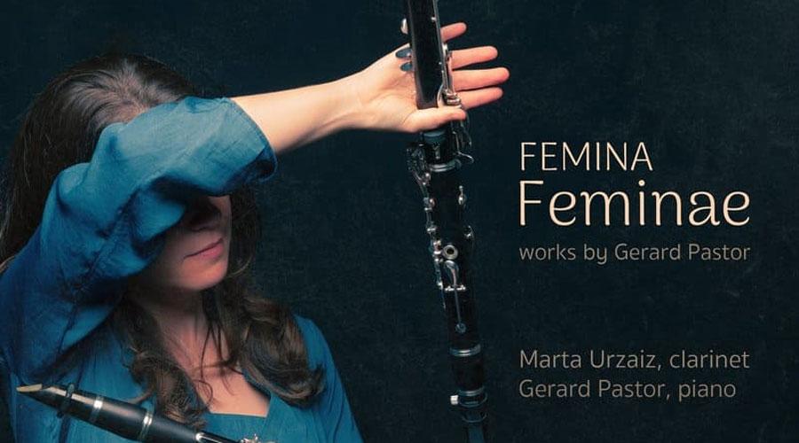 vista del CD 'Femina Feminae' de Gerard Pastor i Marta Urzaiz