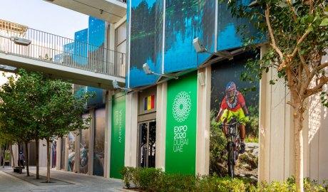 Exterior del pavelló d'Andorra a l'Expo Dubai 2020