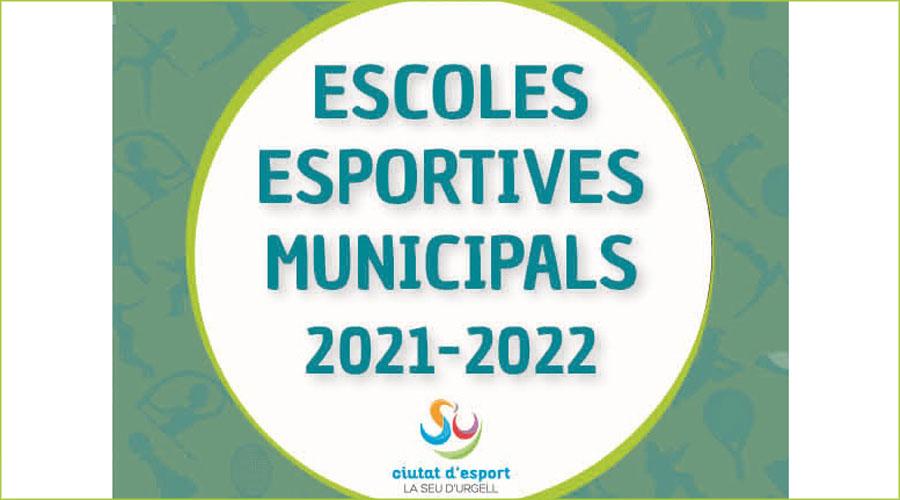 Logotip de les Escoles Esportives Municipals de la Seu d'Urgell.