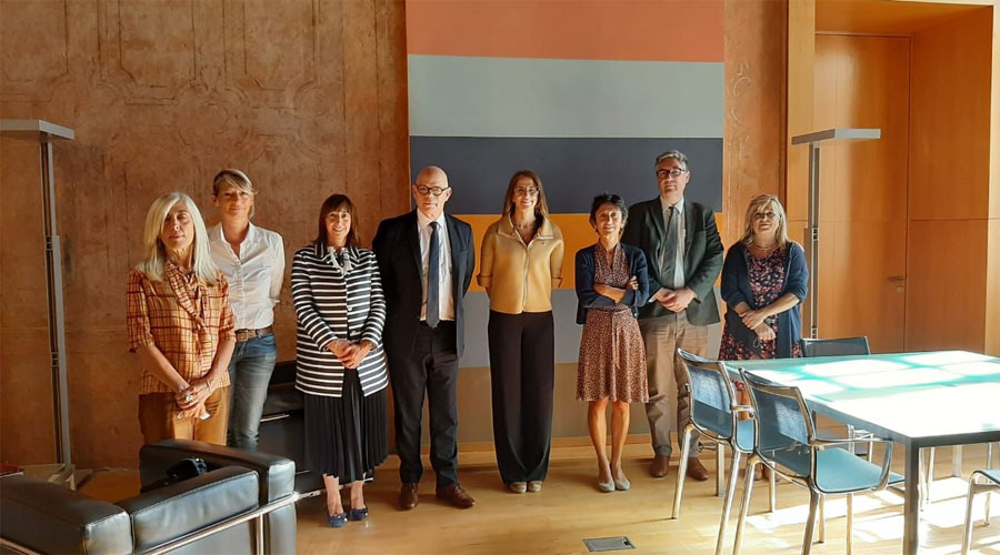 Riva en una reunió a Tolosa de Llenguadoc