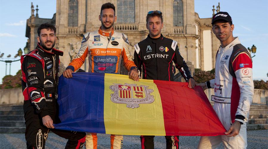 Muxella, Montellà, Solsona i Ferré al FIA Hill Climb Masters 2021