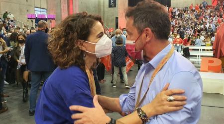 López i Montero al 40è Congrés del PSOE