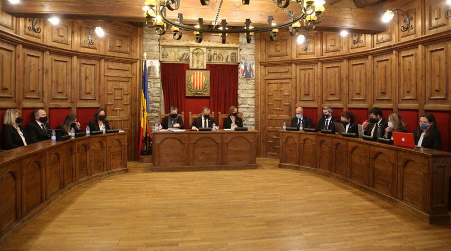 Sessió del Consell de Comú de Sant Julià de Lòria