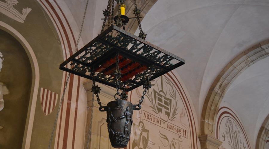 Flama de la Llengua Catalana a Montserrat