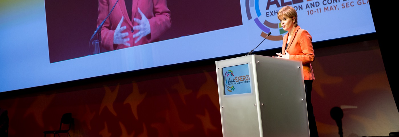 First Minister Nicola Sturgeon to Deliver Keynote Address at All-Energy 2018