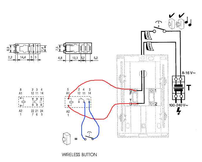 doorbell wiring diagram wires
