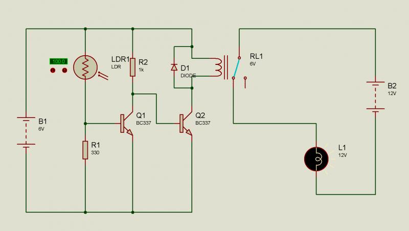 Dc Motor Wiring Diagram Photo Quot Proteus Ldr Amp Lamp Quot In The Album Quot Schematics Quot By
