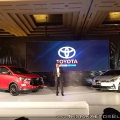 Innova New Venturer Spesifikasi Toyota Grand Veloz 1.3 Pics Leaked Ahead Of Unveil