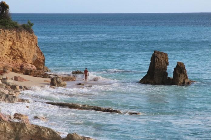 пляж острова Сен-Мартен