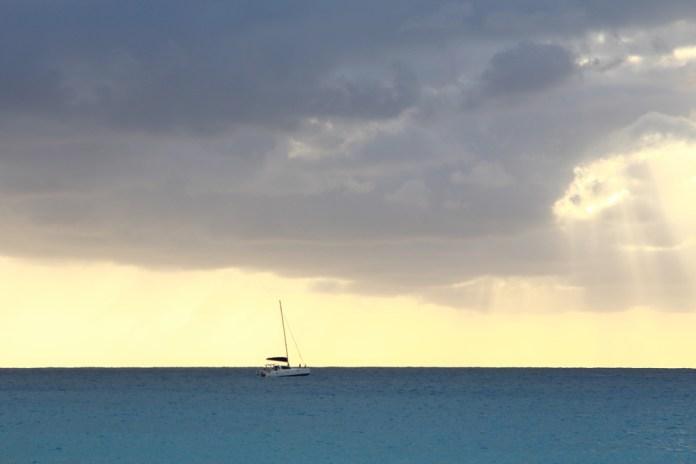 пляж Махо остров Сен-Мартен
