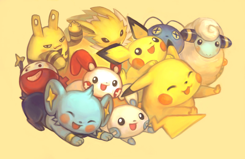 6 Pokemon Gen Mice Electric