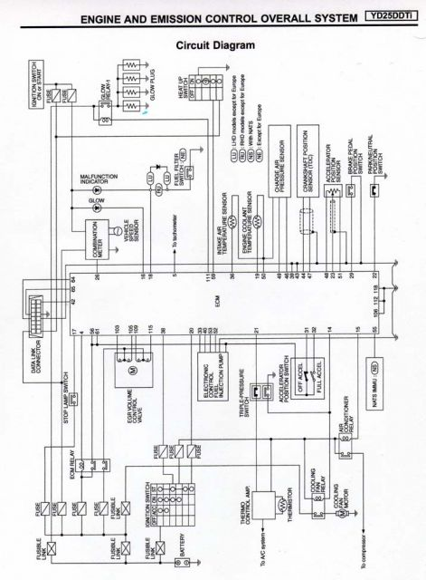 1998 nissan pathfinder stereo wiring diagram