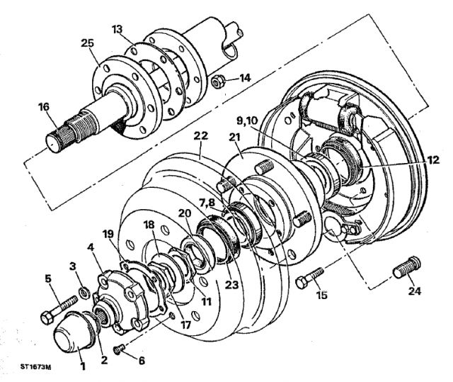 Service manual [1998 Land Rover Range Rover Brake Drum