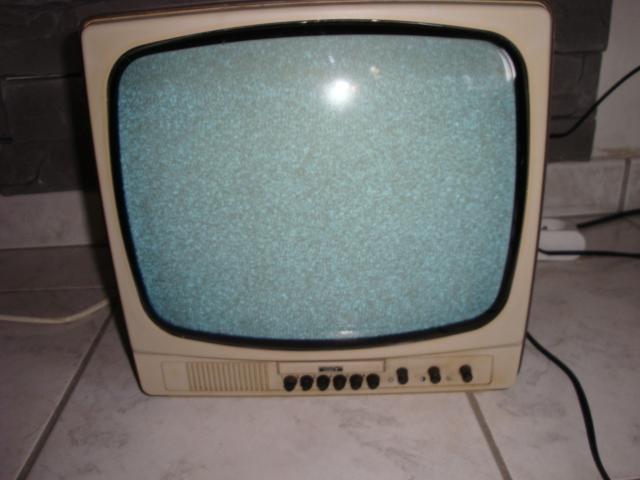 petit televiseur noir et blanc saba