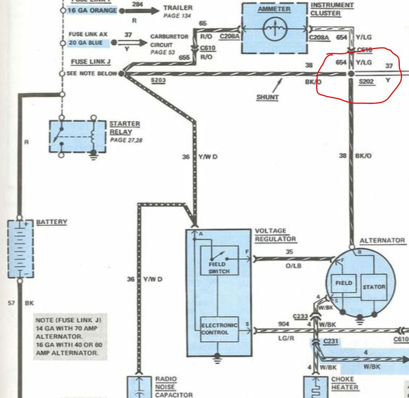 hight resolution of bullnose enthusiasts 1982 bronco alternator wiring mess 3g wiring after conversion 3g alternator last edited by ardwrkntrk
