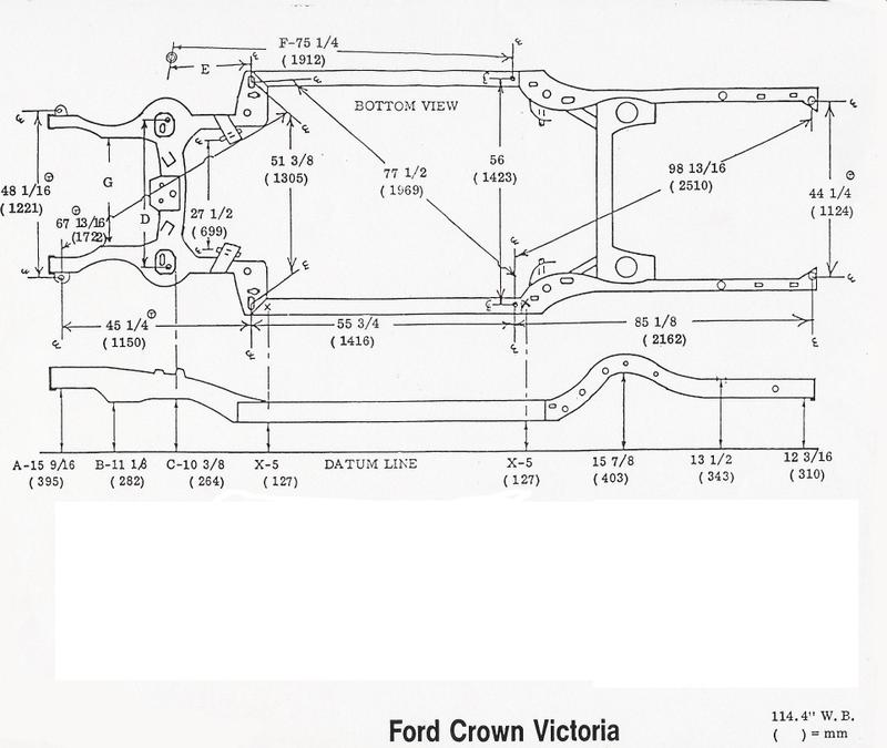 Ford Ranger Chassis Dimensions