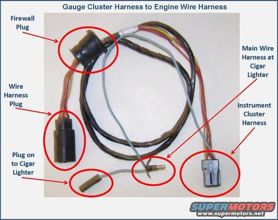 ford 460 distributor wiring diagram dometic thermostat info 72 79 gauge clusters and the torino page forum 1