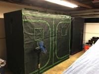 4 By 4 Grow Tent & 4x4 Grow Tent Setup. View Larger