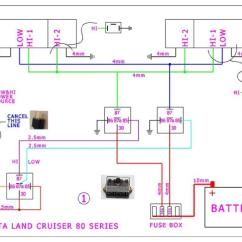Headlight Wiring Diagram Jvc Car Stereo Toyota Land Cruiser 80 Series Headlights Upgrade | Ih8mud Forum