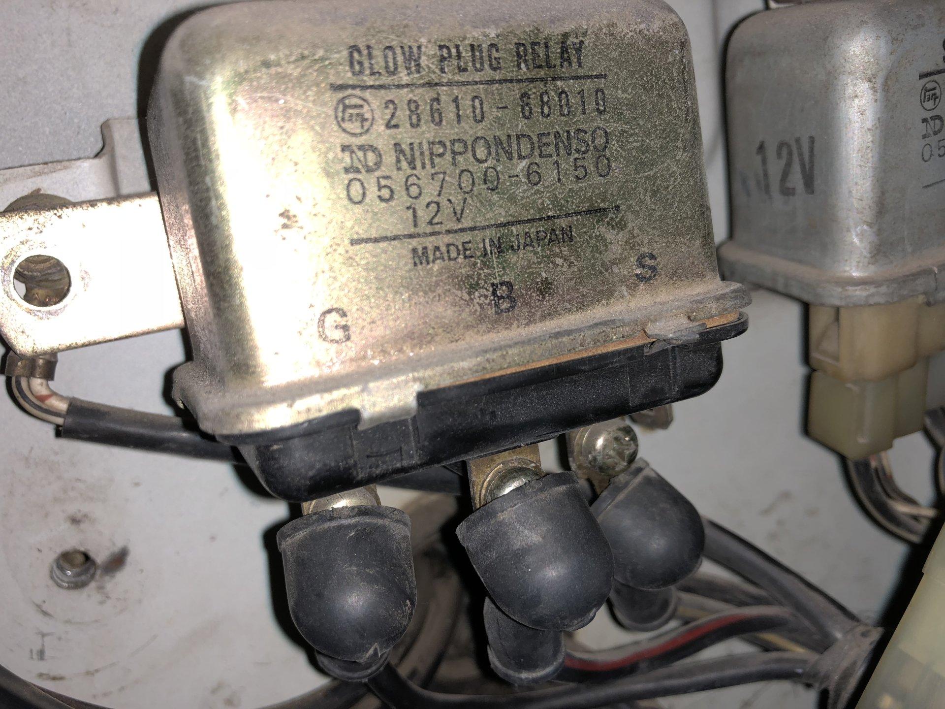 Powerstroke Glow Plug Relay Wiring Diagram