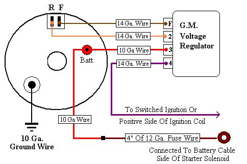 One Wire Diagram Wiring Diagram For One Wire Alternator The Wiring