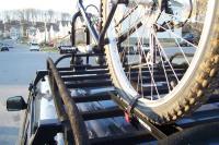 Home made bike racks?