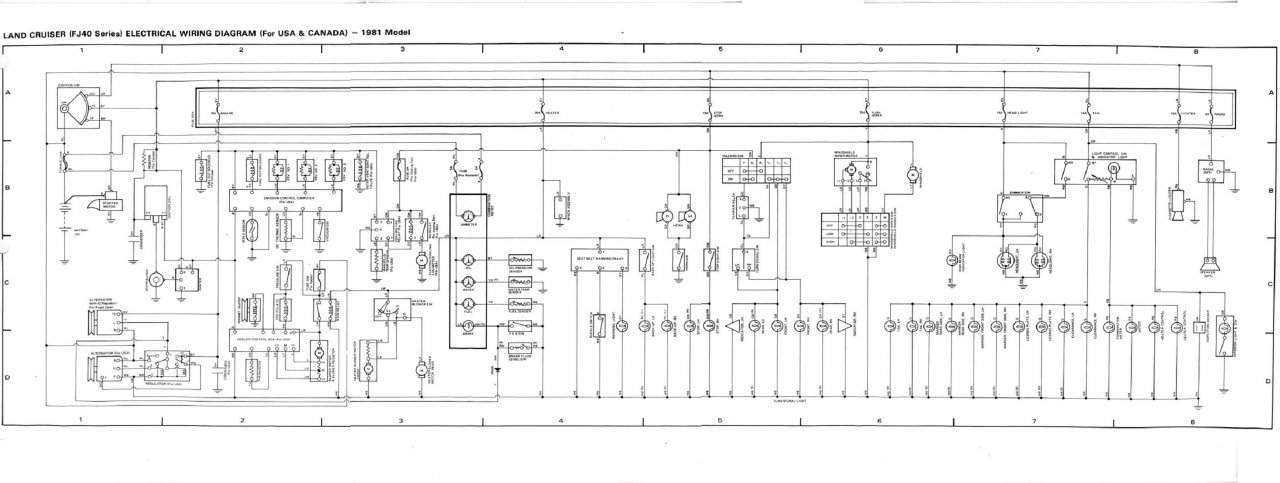 Toyota Land Cruiser Wiring Diagrams 100 Series : 46 Wiring