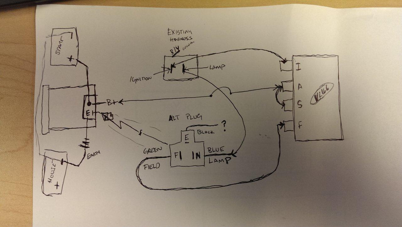hight resolution of hj75 alternator wiring diagram data wiring diagram 2h alternator questions identifying a 24v vs 12v externally