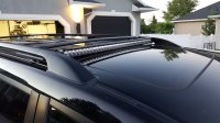 "Discreet 40"" LED Lightbar on Factory Roof Rack 
