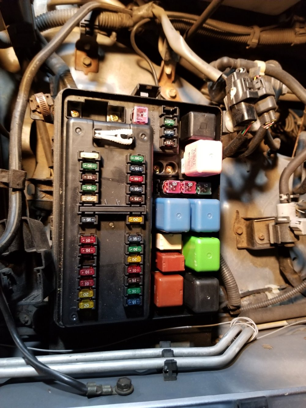 medium resolution of ac magnetic clutch relay location on 2003 lx470