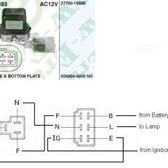 Alternator Wiring Diagram External Regulator 5 Pin Relay 2h Questions - Identifying A 24v Vs 12v Externally Regulated   Ih8mud Forum