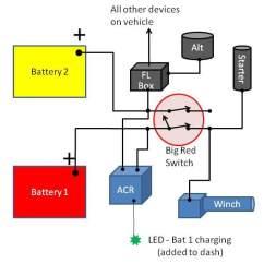 Blue Sea Wiring Diagram 2006 International 4300 Radio Dual Battery W/blue System Acr & Arb Comp | Ih8mud Forum