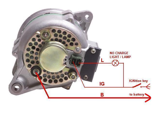 4 Wire Denso Alternator Diagram Voltage Regulator Int How It Works Ih8mud Forum