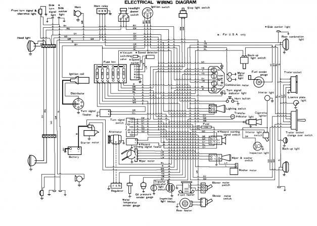 1974 toyota land cruiser wiring diagram off grid bj40 great installation of 1971 fj40 ih8mud forum rh com 1969