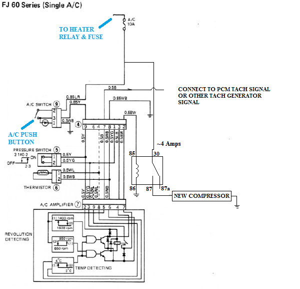 system wiring diagrams toyota ford transit diagram 2005 v8 swap compressor with a c ih8mud forum