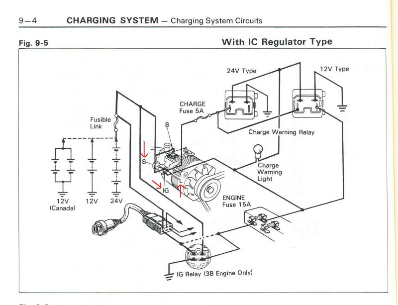 Toyota Land Cruiser Alternator Wiring Diagram. Land Rover