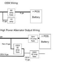 12 Volt One Wire Alternator Wiring Diagram Ceiling Fan Pull Switch | Ih8mud Forum