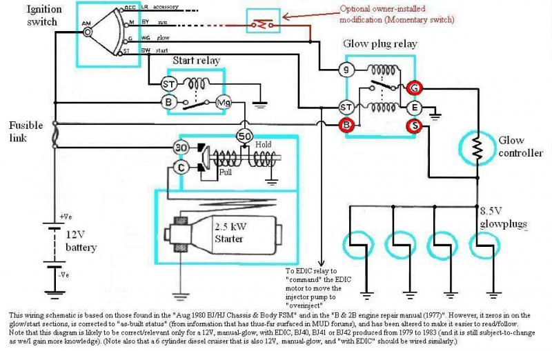 kubota wiring diagram nuclear power plant internal of bj40/bj42/hj42 glow relay (manual glow) | ih8mud forum
