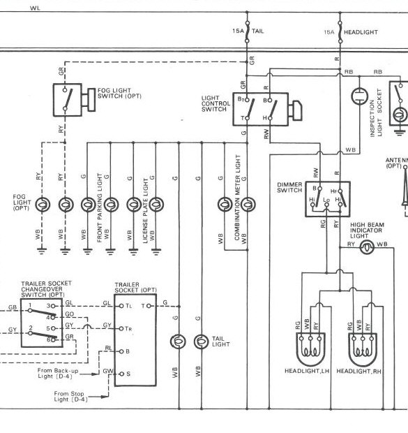 Hzj75 Headlight Wiring Diagram : 30 Wiring Diagram Images