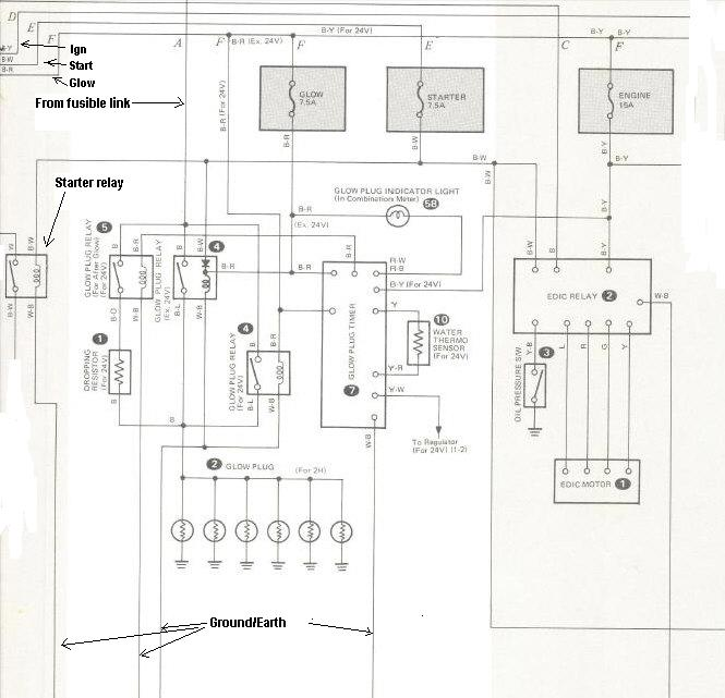 glow plug wiring diagram 1086 international tractor need help dentifying what circuit i have   ih8mud forum