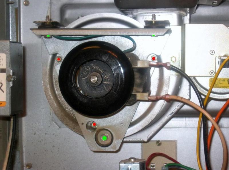 Gas Furnace Inducer Repair