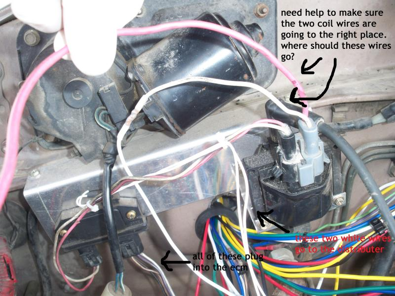 1990 Chevy 1500 5 7 Ignition Coil Wiring Also Chevy 350 Tbi Engine