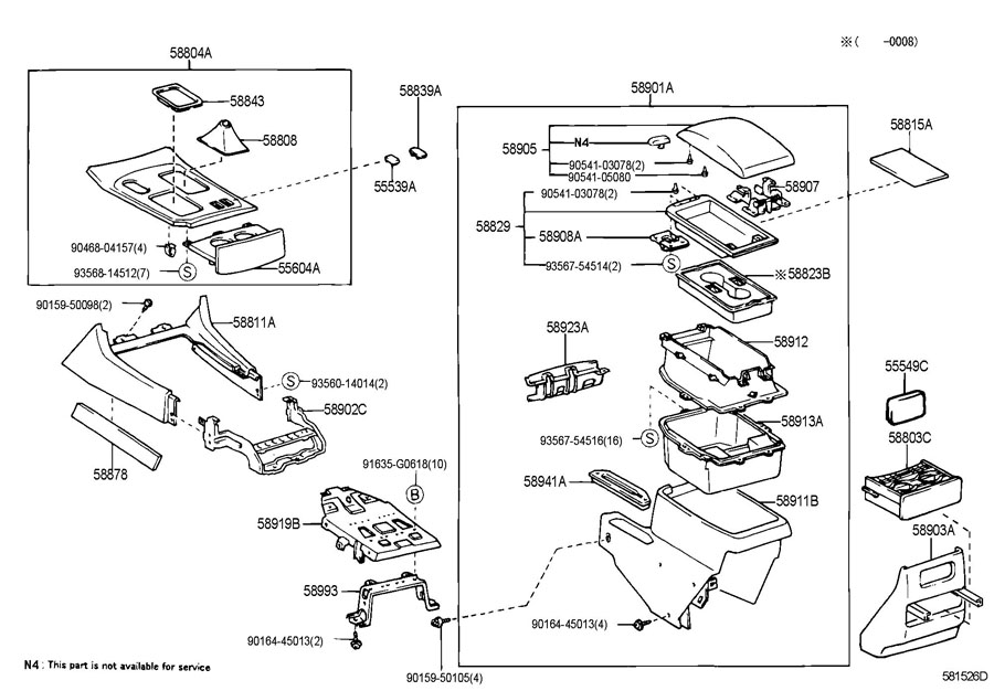 Toyota 4runner Seat Parts Diagram. Toyota. Auto Wiring Diagram