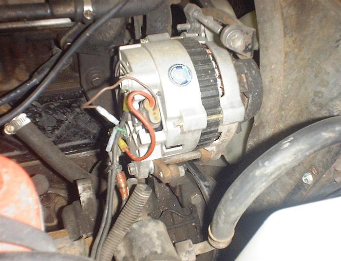 Alternator Wiring Diagram Also 1982 Toyota Pickup Alternator Wiring