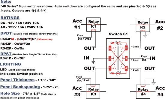 Dpdt Toggle Switch Wiring Diagram For Stereo Input Spdt Slide