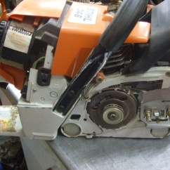 Stihl Ms250 Chainsaw Parts Diagram 7 Pin Round Trailer Connector Removing An Inboard Clutch On A Chain Saw | Ih8mud Forum